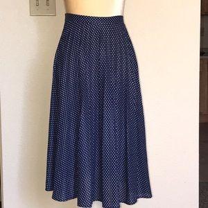 Vintage Navy Blue dress 2 Ps, Size 7/8*